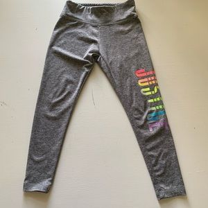 Girls JUSTICE active leggings size 6